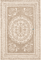 Newcastle Camel Hand Tufted Rug <font color=a8bb35> NEW</font>