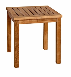 Newport Tall Side Table in Teak *Backorder