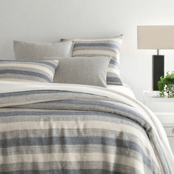 Newton Linen Denim Duvet Cover