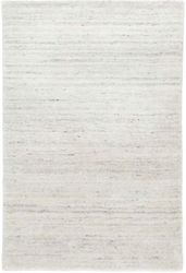Nordic White Loom Knotted Rug <font color=a8bb35>NEW</font>