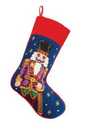 Nutcracker Christmas Stocking<font color =a8bb35> Sold out</font>
