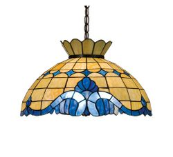 Ocean and Sky Baroque Pendant Light