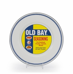 "Old Bay 8.5"" Sandwich Plate Set of Four *Sold out"