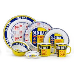 Old Bay Enamel Dinnerware