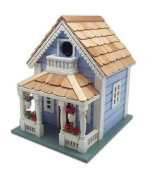 Orleans Cottage Birdhouse <font color=a8bb35>New</font>