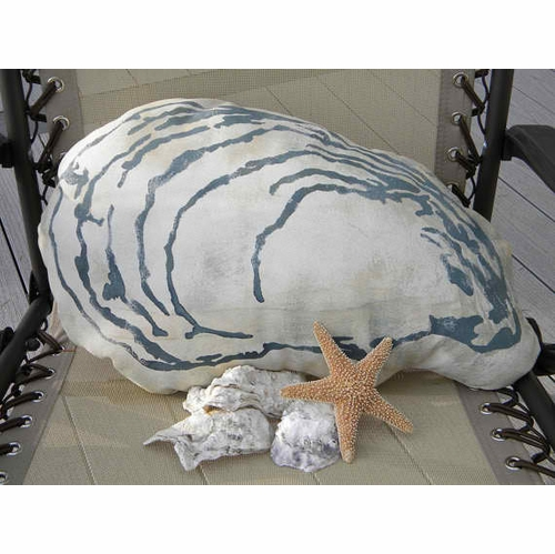 Oyster Outdoor Pillow