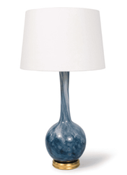 Paradise Glass Table Lamp <font color=a8bb35> NEW</font>