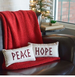 Peace & Hope Pillows - Set of 2