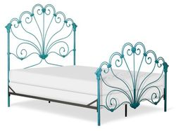 Peacock Metal Bed