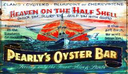 Pearly's Oysters Beach Wall Art - Customize *NEW