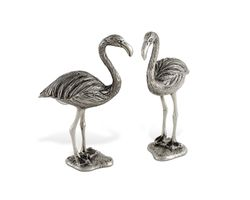 Pewter Flamingo Salt & Pepper Set *NEW*