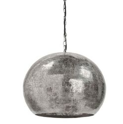 Pierced Metal Sphere Pendant <font color=a8bb35>NEW</font>