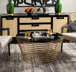 Pinfold Coffee Table in Black