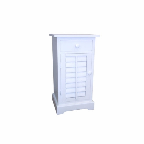 Plantation Nightstand with Drawer