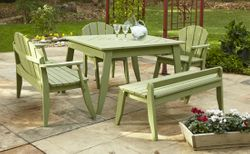 Plaza Outdoor Dining Table In Three Sizes