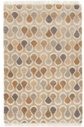 Porter Multi Hand Knotted Wool Rug <font color=a8bb35>NEW</font>