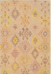 Ralhaji Mustard Hand Tufted Rug  <font color=a8bb35> NEW</font>