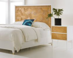 Riviera Bed In Two Sizes <font color=a8bb35> NEW</font>