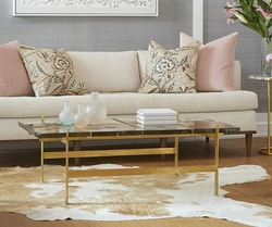 Romeo Coffee Table in Gold
