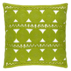 Round Turn Sprout Indoor/Outdoor Decorative Pillow