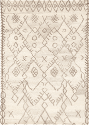 Safi Chocolate Chip Hand Tufted Rug  <font color=a8bb35> NEW</font>