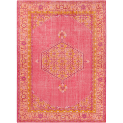 Sahra Pink Hand Knotted Rug