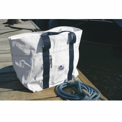 24 Pack Sailor Bags Soft Cooler Bag with Red Straps
