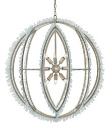 Saltwater Orb Chandelier<font color=a8bb35> NEW</font>