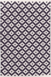 Samode Navy/Ivory Indoor/Outdoor Rug