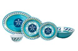 Sand Dollar Melamine Dinner Set
