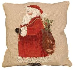 Santa Christmas Pillow  <font color=a8bb35> NEW</font>