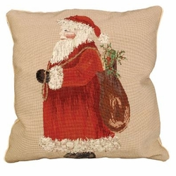 Santa Christmas Pillow