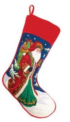Santa Christmas Stocking<font color =a8bb35> Sold out</font>