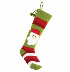 Santa Knit Christmas Stocking<font color =a8bb35> Sold out</font>