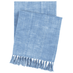 Santa Monica Denim Throw <font color=a8bb35> NEW</font>