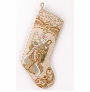 Santa with Xmas Tree Stocking<font color =a8bb35> Sold out</font>