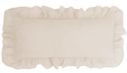 Savannah Linen Gauze Tea Stain Decorative Pillow