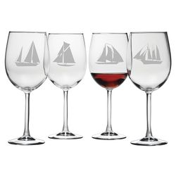 Schooner Wine Glass - Set of 4 *NEW