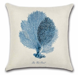 Sea Fan Coral Pillow<font color=cf2317> Sold out</font>