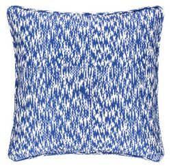 Sea Island Cobalt Indoor/Outdoor Decorative Pillow
