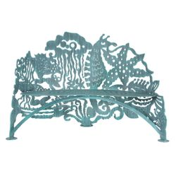 Sea Life Metal Garden Bench *NEW*