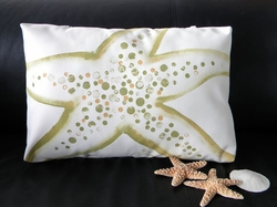 Sea Star Poolside Pillow
