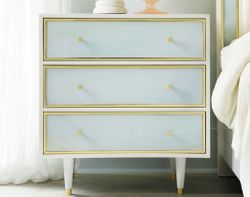 Seaglass Bedside Chest <font color=a8bb35>NEW</font>