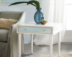 Seaglass End Table