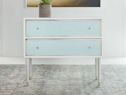 Seaglass Two Drawer Chest