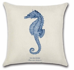 Seahorse Pillow<font color=cf2317> Sold out</font>