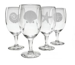 Seashore Iced Tea Glasses - Set of 4 *NEW