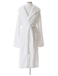 Selke Fleece Hooded Robe in 2 Colors