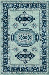 Serafina Ice Blue Hand Tufted Rug  <font color=a8bb35> NEW</font>