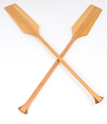 Set of Two Canoe Paddles